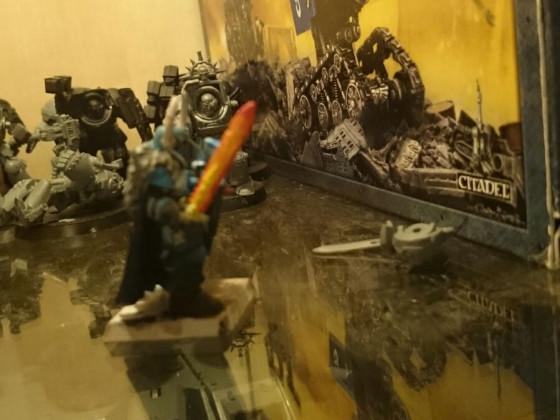 Krieger des Chaos - Tzeentch Chaos Krieger 9th.