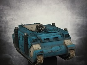 Space Marines Rhino Front