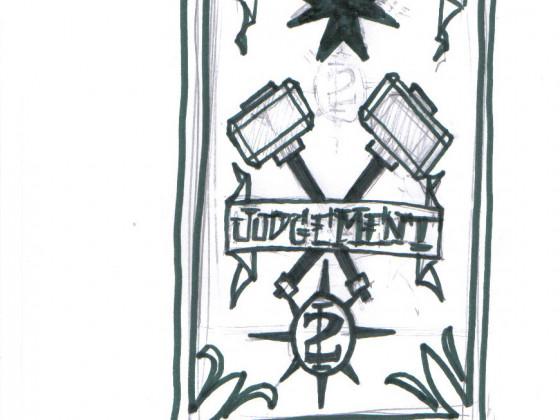 Banner 2. Kompanie der Grey Templars