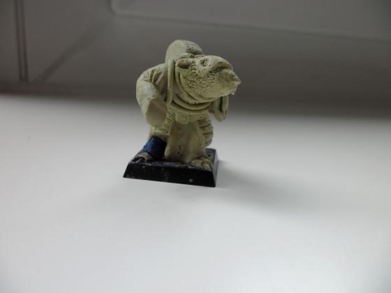 Warlock aus grobem Milliput
