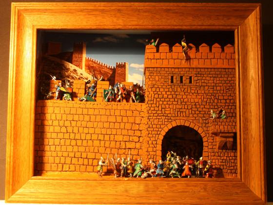 Burgen für 28mm