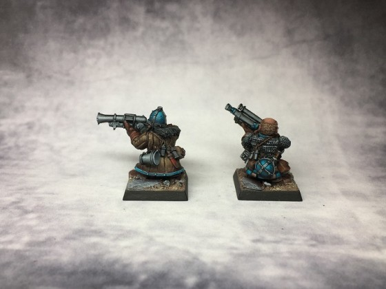 Musketenschützen Back