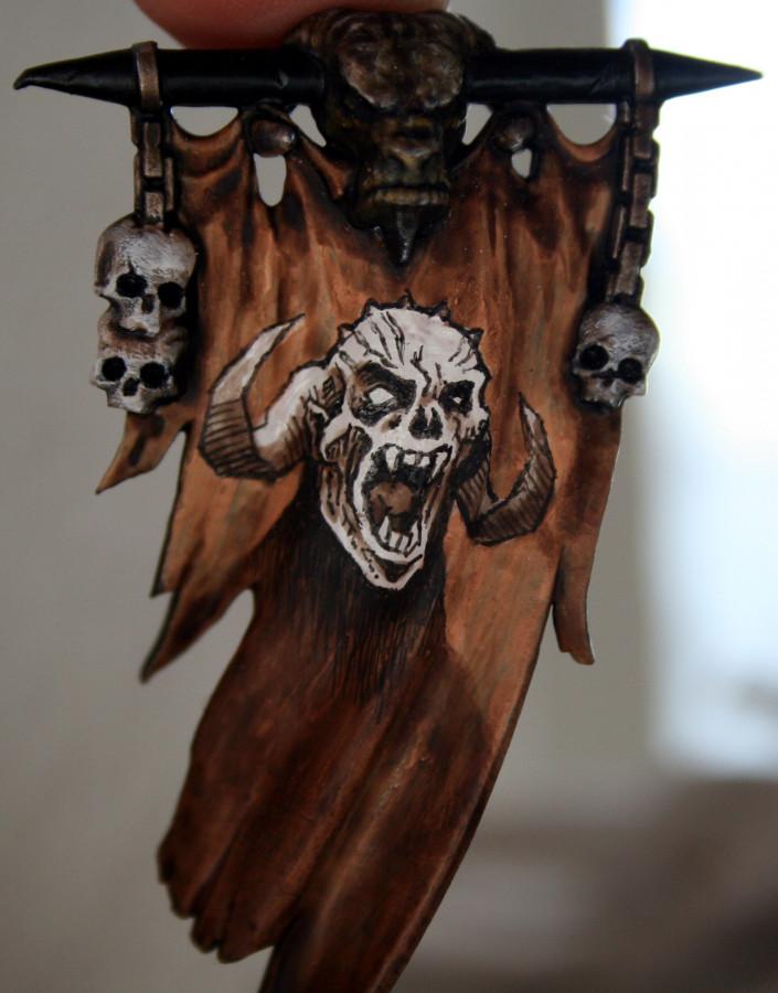 Banner des wütenden Dämonen