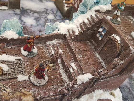 Frostgrave Schiffswrack