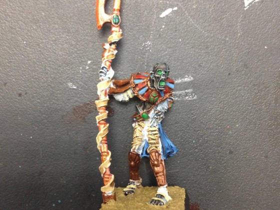 Priester des Totenkults