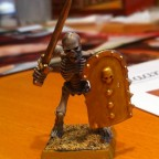 Mein 1. Skelettkrieger
