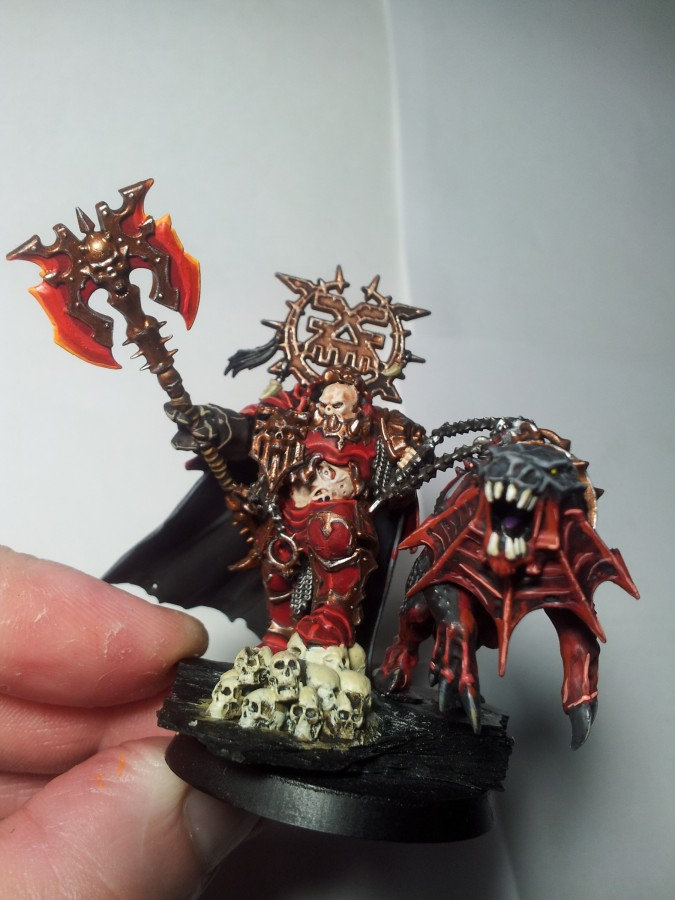 Korghos Kul - Mighty Lord of Khorne bla bla