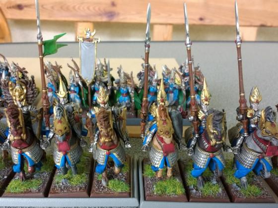 Highborn Lancers - Silberhelme