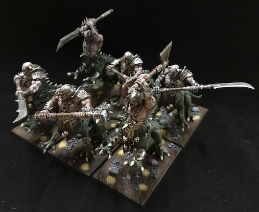 Sechs Drachenoger