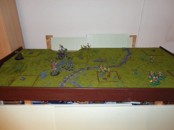 Haalis erstes Gelände: Mit Einheiten