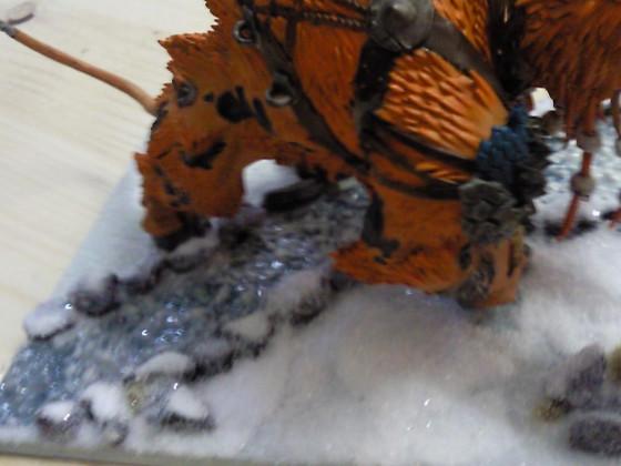 Erste Schneebase versuche