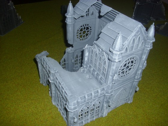 Zerstörte Kirche WIP