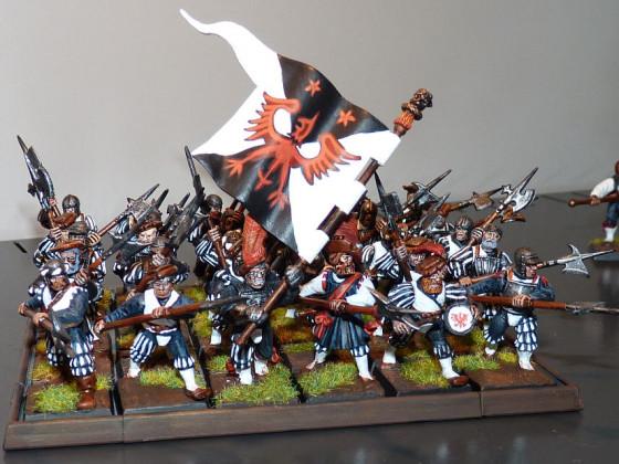Hellebarden - Lord Bock