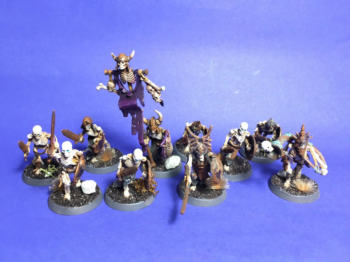 Deathrattle Skeletton Warriors