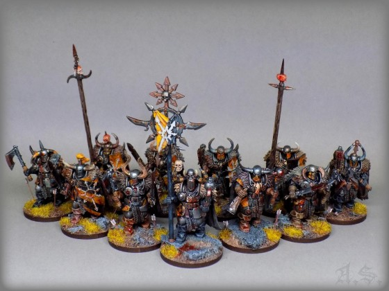 """Chaos Krieger"" The Black Iron Legion"