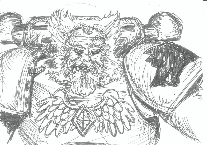 76884_md-80´s, Artwork, Daemons, Drawing, Drawings, First Edition, Old Style, Space Marines