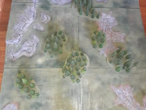 Wälder für die Platte
