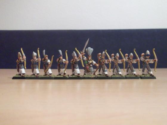 Hochelfen Bogenschützen Rüstung 1992