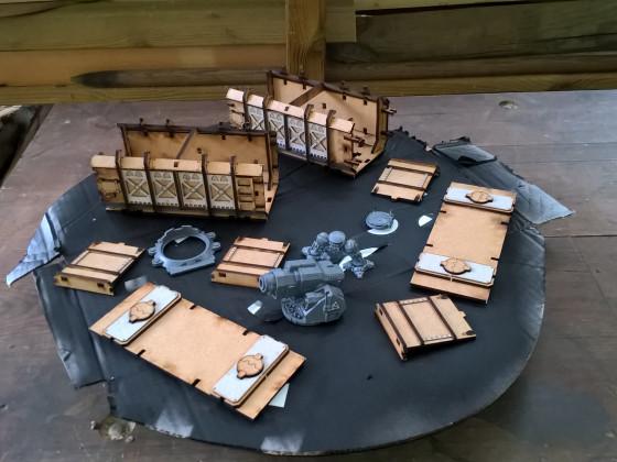 MDF-Gelände: Prometheus Container von TT-Combat Terrain