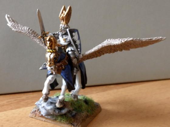 Held auf Pegasus