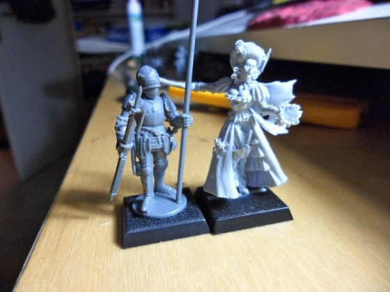 Perry Miniaturen - Größenvergleich