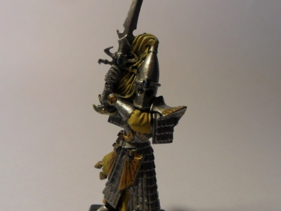 erster Hochelf, Schwertmeister