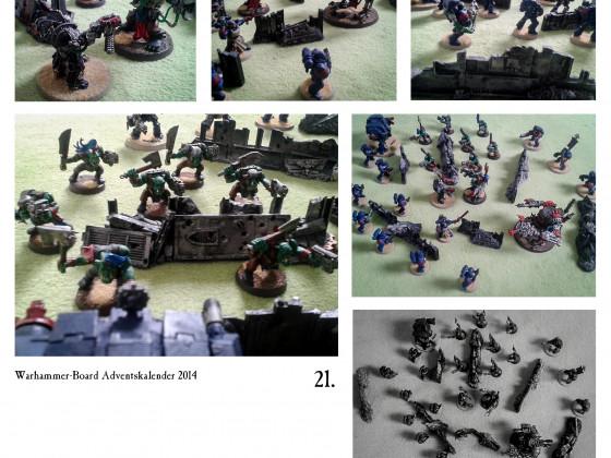 """Türchen Einundzwanzig - """"Orks vs. Ultras"""""""