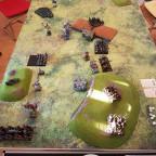 Vier-Spieler-Schlacht auf dem Kreuzzug: