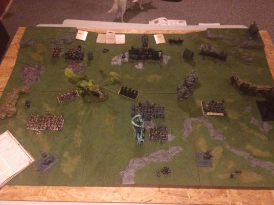 Spiel gegen Chaos