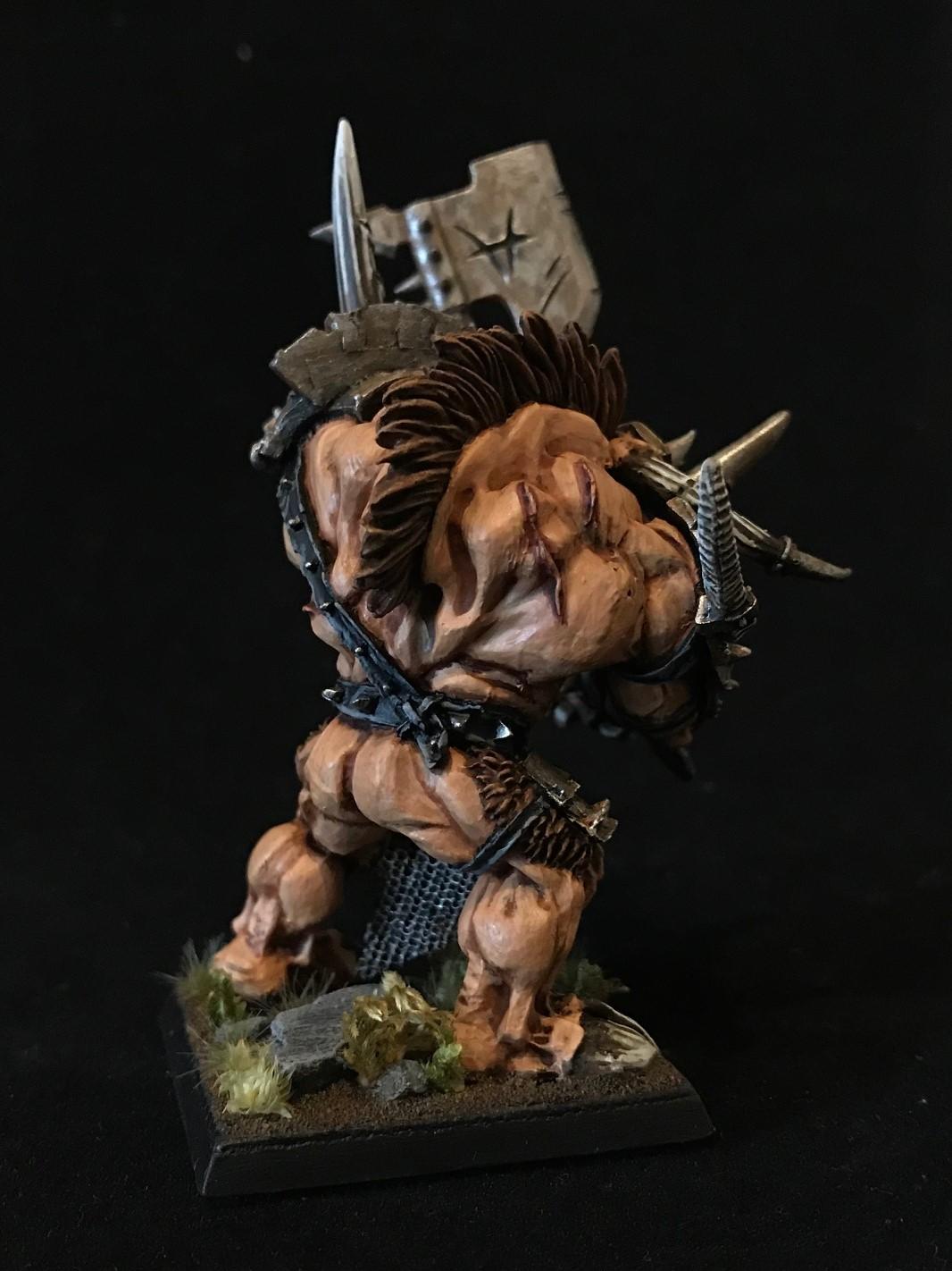 Minotauruslord Rücken