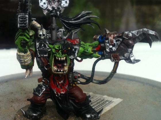 Ork Waagghh Boss