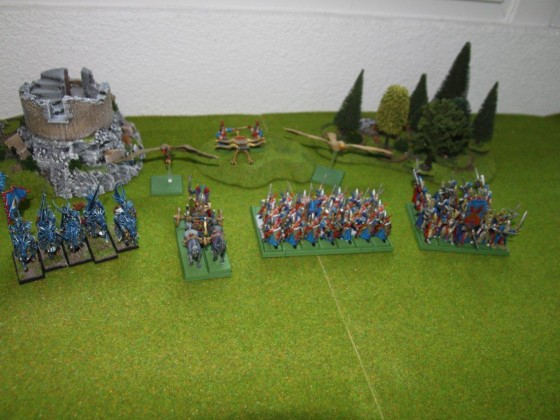 Hochelfen Armee - Warhammer Online Probespiel