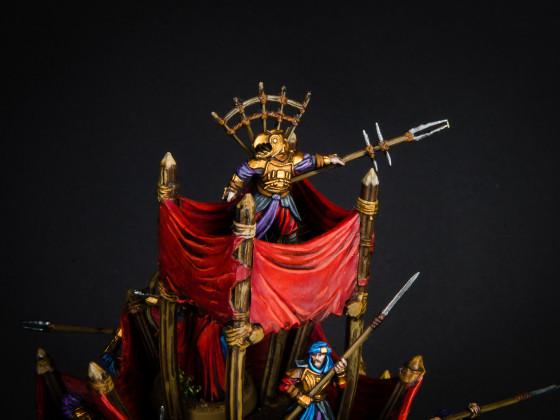 Kriegsmumak der Haradrim (Herr der Ringe) Malkrieg 2018