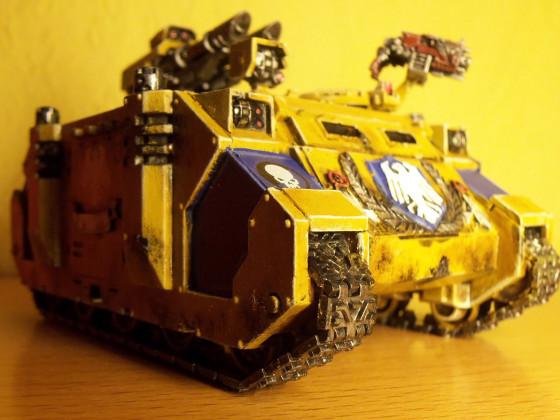 """Emperors WarHawks"" 5. Kompanie  Razorback des Kommando-Trupps"