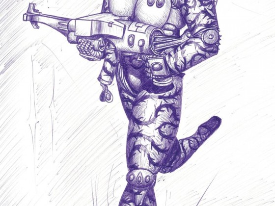 147337_md-80´s, Artwork, Chaos, Chaos Space Marines, Conversion, Cool, Crazy, Cw