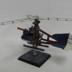 Gyrokopter fertig hinten