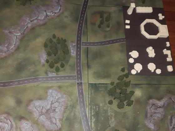 Straßen für die Platte