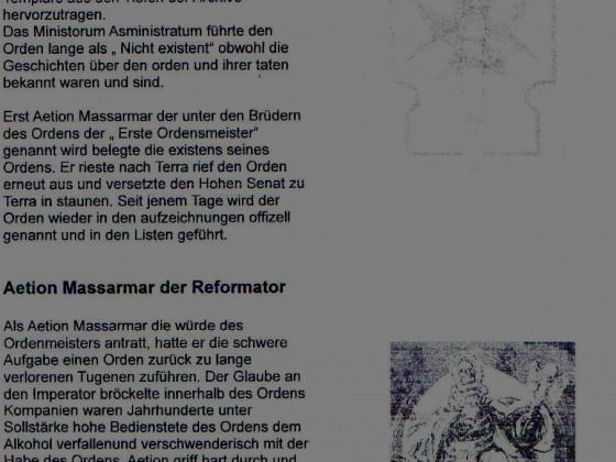 Auszug der ersten seite des Eigenprojekts Codex