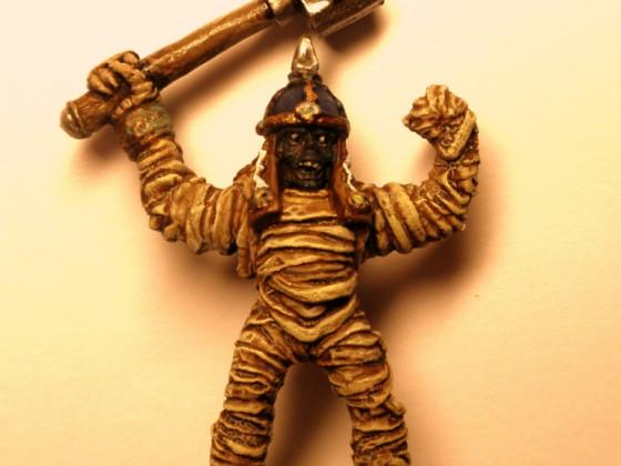 The Mummy - entstaubt und neubemalt