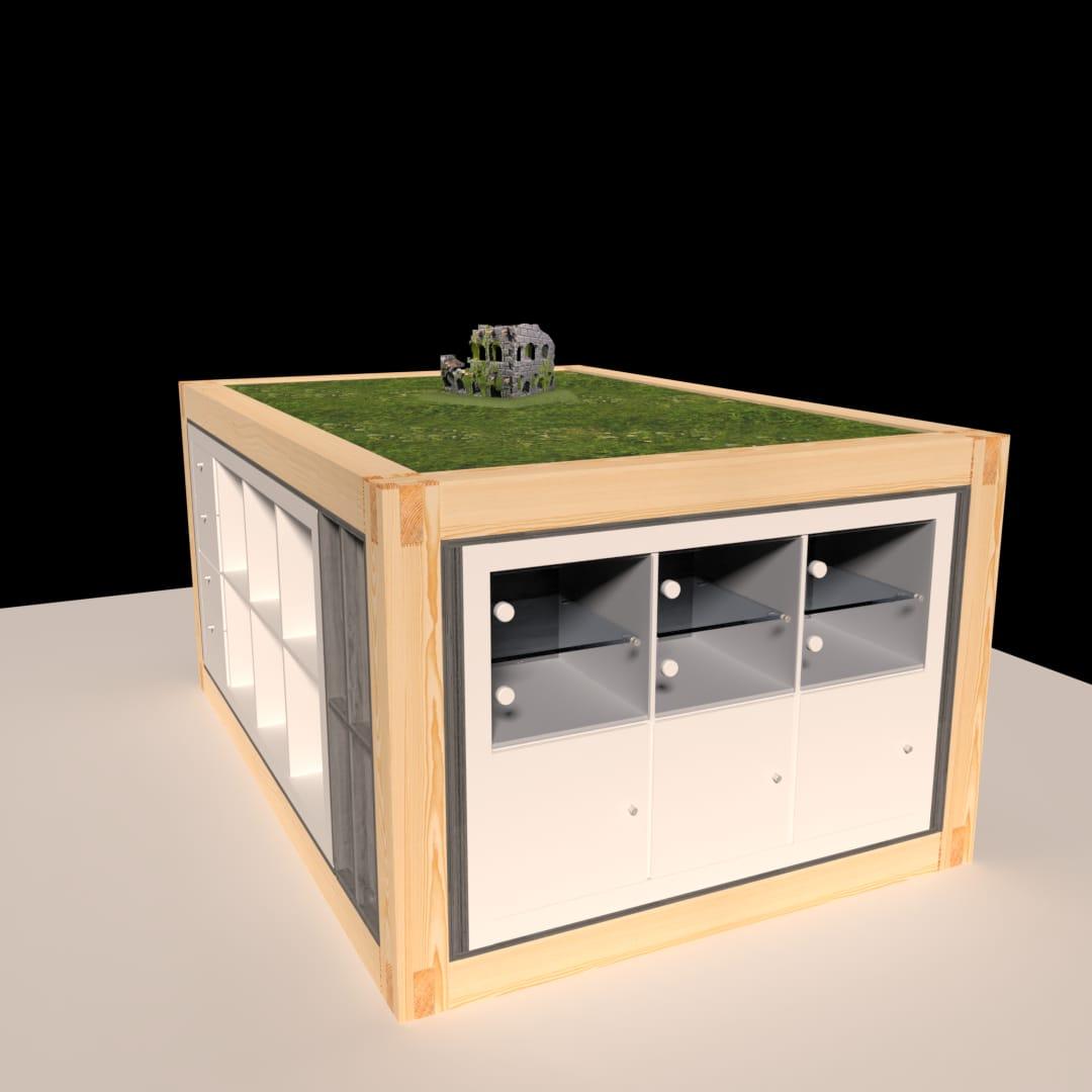 Selfmade hobbytisch komplett zerlegbar