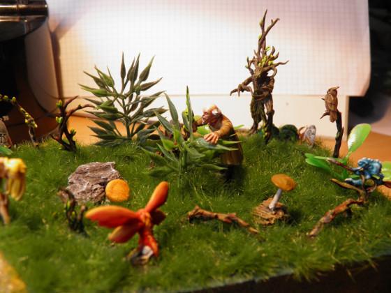 "Diorama - ""Verbotene Blicke"""