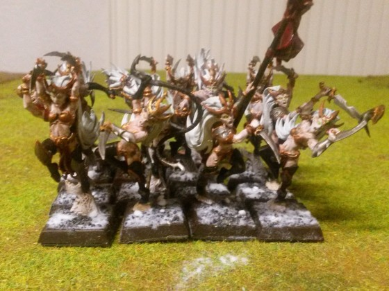 Hexen in Formation