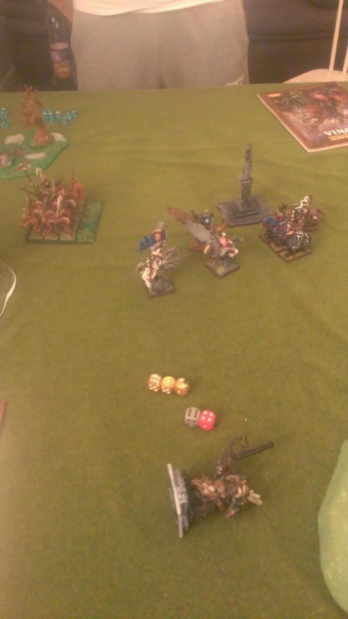 Das Ende meiner ersten Bretonen-Schlacht...!