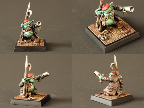 Die ersten Goblins meiner Freebooters Fate Mannschaft