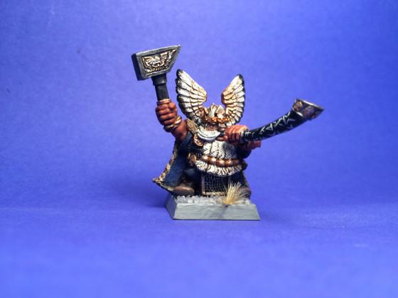 Kazador Donnerhorn, König vom Eisengipfel