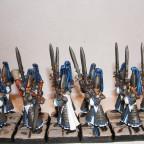 Schwertmeister von Vorne