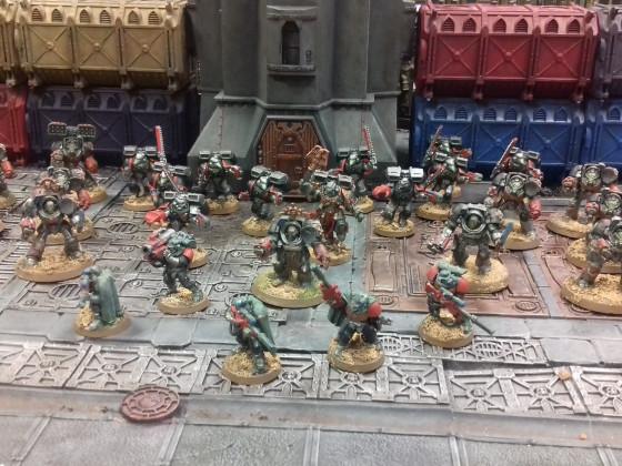 Doom Spectres Space Marines
