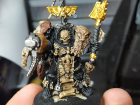 Prist für Space Wolves WIP