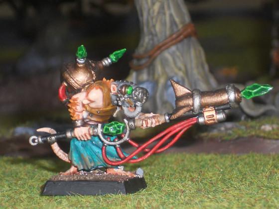 Warlocktechniker mit Verdammnisrakete