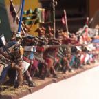 Fokus auf den ersten Ritter...